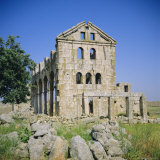 Basilica Church  372 AD  'Dead City' Region in North Syria  Kharrab Shams  Syria  Middle East