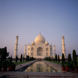 The Taj Mahal at Dawn  Agra  Uttar Pradesh  India