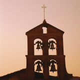 Church Bells at Sunset  Florence  Tuscany  Italy