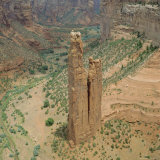 Spider Rock  Canyon De Chelly  Arizona  USA