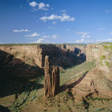 Spider Rock  Canyon De Chelly National Monument  Arizona  USA