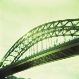 Arched Bridge Over River Tyne  Newcastle Upon Tyne  Tyne and Wear  England  United Kingdom  Europe
