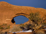 North Window  Arches National Park  Utah  Moab  USA