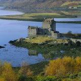 Eilean Donan Castle  Dornie  Highland Region  Scotland  UK  Europe