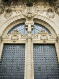 Doors on the Front of Santiago Cathedral  Galicia  Spain