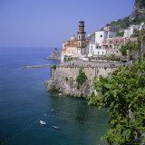 Atrani Near Amalfi  Costiera Amalfitana (Amalfi Coast)  Unesco World Heritage Site  Campania  Italy