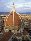 Elevated View of the Duomo  Florence  Unesco World Heritage Site  Tuscany  Italy
