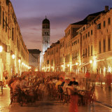 The Stradun  Dubrovnik  Croatia