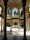 Court of the Lions  Alhambra Palace  Unesco World Heritage Site  Andalucia (Andalusia)  Spain