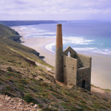 Wheal Coates Mine  St Agnes  Cornwall  England  UK