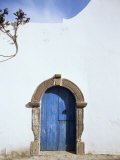 Blue Door  Filicudi  Aeolian Islands  Unesco World Heritage Site  Italy