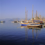 Marmaris Harbour  Turkey  Eurasia