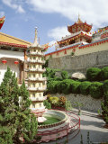 Exterior of the Kek Lok Si Temple  Penang  Malaysia