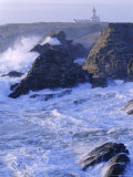 Pointe De Poulains View from Ster Vraz  Nw Coast  Belle-Ile-En-Mer  Brittany  France