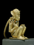 Tiny Solid Gold Statuette of Amenophis III Found the Tomb of Pharaoh Tutankhamun  Egypt