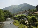 River Nive  Saint Etienne De Baigorry (St-Etienne-De-Baigorry)  Basque Country  Aquitaine  France