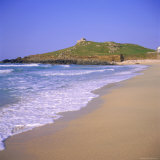 Porthmeor Beach  St Ives  Cornwall  England  UK