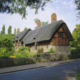 Anne Hathaway's Cottage  Shottery  Stratford-Upon-Avon  Warwickshire  England  UK  Europe