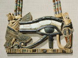 Pectoral of the Sacred Eye Flanked by Serpent Goddess and Vulture Goddess  Egypt  North Africa