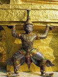 Wat Phra Kaeo  Temple of the Emerald Buddha  Grand Palace  Bangkok  Thailand