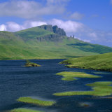 Loch Fada and the Storr  Isle of Skye  Highlands Region  Scotland  UK  Europe