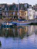 Waterfront and Port Area of Saint Goustan (St Goustan)  Town of Auray  Brittany  France