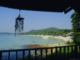 Beach View from Bungalow  Laem Yai Hut Home  Hat Sai Kaew Beach  Ko Samet Island  Rayong  Thailand