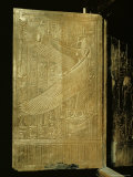 One of the Double Doors of the Gilt Shrine Showing the Goddess Isis  Thebes  Egypt