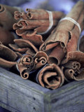 Cinnamon Sticks at the Market  Lesser Antilles  French West Indies