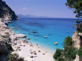 Bay and Beach  Cala Goloritze  Cala Gonone  Island of Sardinia  Italy