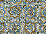 Azulejos Tiles in the Mudejar Style  Casa De Pilatos  Santa Cruz District  Andalusia  Spain