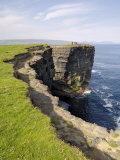 Cliffs at Downpatrick Head  Near Ballycastle  County Mayo  Connacht  Republic of Ireland (Eire)