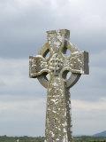 Celtic Style Cross in Graveyard  Connacht  Republic of Ireland (Eire)