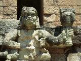 The Mayan Rain God Chac  Western Highlands  Honduras
