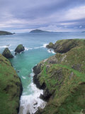 Coast at Slea Head and the Blasket Islands  County Kerry  Munster  Eire