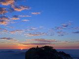 Men Watching Sunrise  Huang Shan  Unesco World Heritage Site  Anhui Province  China