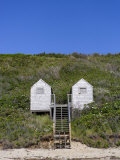 Weathered Beach Huts