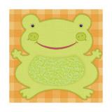 Needlepoint Frog
