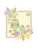 Friendly Owl Batik