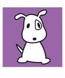 Dog Purple