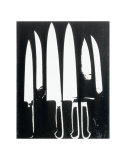 Knives  c1981 (black and white)