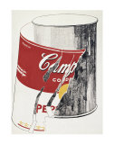 Big Torn Campbell's Soup Can  c1962 (Pepper Pot)