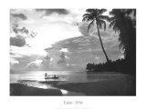 Tahiti, 1938 Reproduction d'art