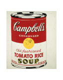 Campbell's Soup Can  c1962 (Old Fashioned Tomato Rice)