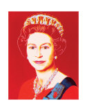 Reigning Queens: Queen Elizabeth II of the United Kingdom  c1985 (Light Outline)