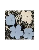 Flowers  c1965 (Blue  Ivory)