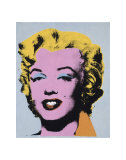 Marilyn  c1964 (On Light Gray-Blue)