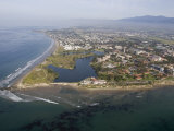 Campus Point and Campus Lagoon at Uc Santa Barbara in Goleta  California