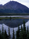 Beautiful Mountain Reflection in Alaska