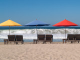 Beach Chairs Set Up Where the Waves Are Called the Mexican Pipeline  Mexico